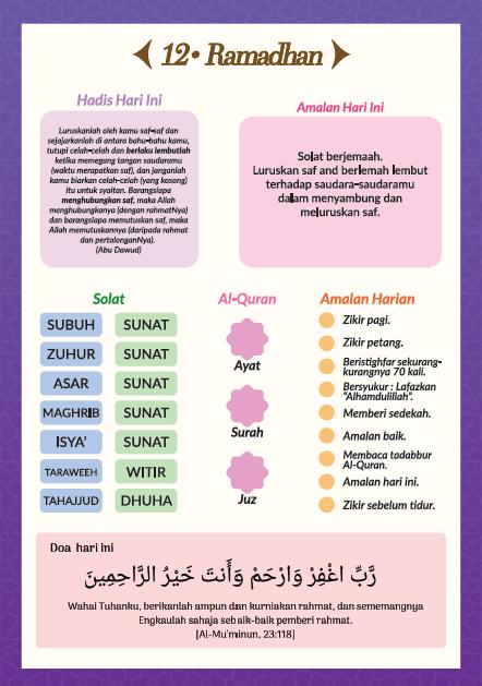 kalender doa ramadhan - eskayvie indonesia